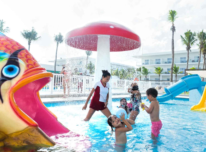 Hotel riu playacar hoteles y experiencias Piscinas rigidas para ninos